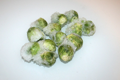 15 - Zutat Rosenkohl / Ingredient brussels sprouts