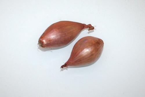 04 - Zutat Schalotten / Ingredient shallots