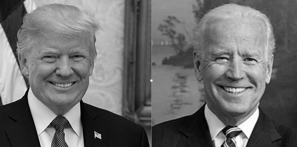 Trump and Biden | Donald Trump and Joe Biden, official portr… | Flickr