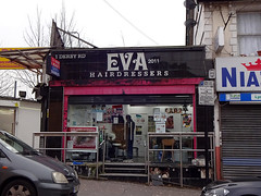 Picture of Eva Hairdressers, 1 Derby Road