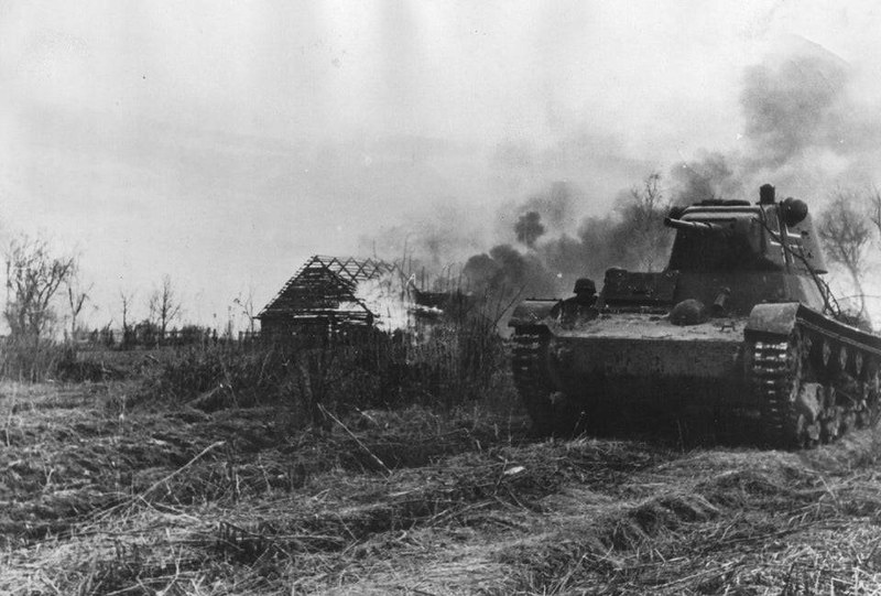 captain-price-official: T-26 in use with 3rd SS Panzer Division Totenkopf, 1941.