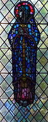 Blessed Virgin (William Morris of Westminster, 1952)