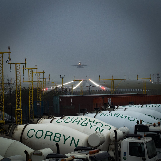 Out of the Fog, London City Airport