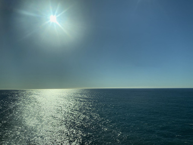 Tyrrhenian Sea off the Amalfi Coast near Furore