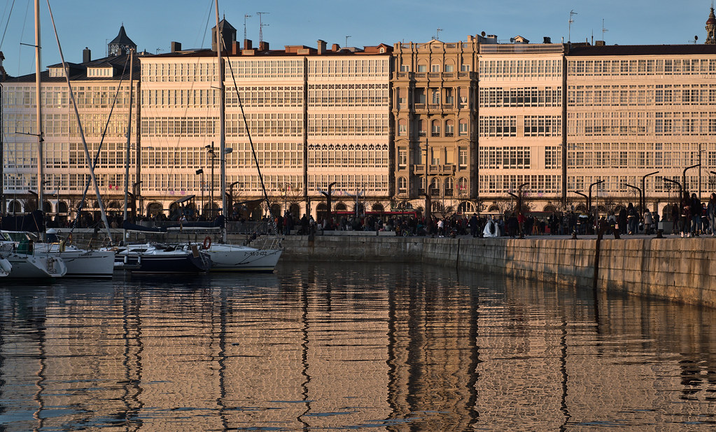 Galerías De La Marina A Coruña César Fernández Flickr