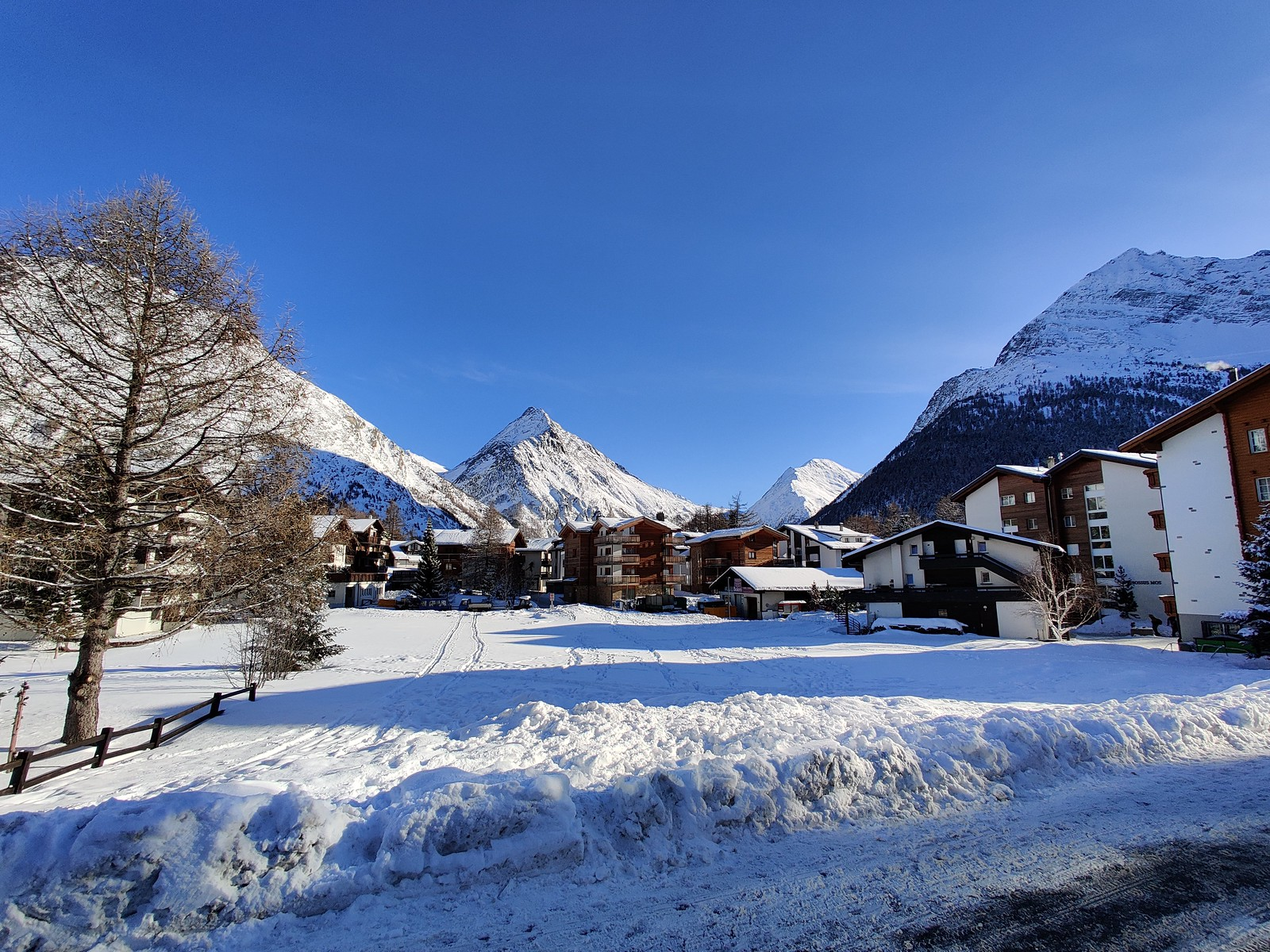 Winter in Saas Fee