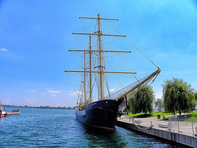 Toronto Ontario - Canada -  Ship Caledonia Tall Ship -