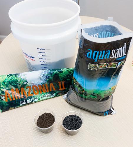 ADA Amazonia II substrate vs Up Aqua Aquasand