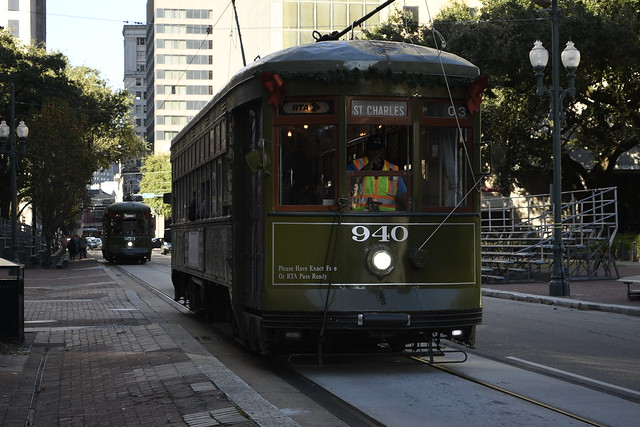 St Charles streetcar - New Orleans