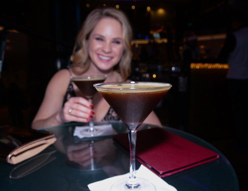 Rising Tides Expresso Martinis