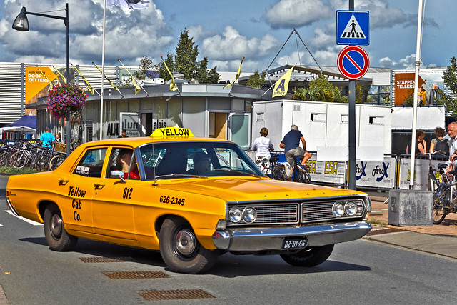 Ford Yellow Cab 1968 (0228)