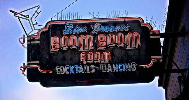 Live Grooves at the BOOM BOOM ROOM ...
