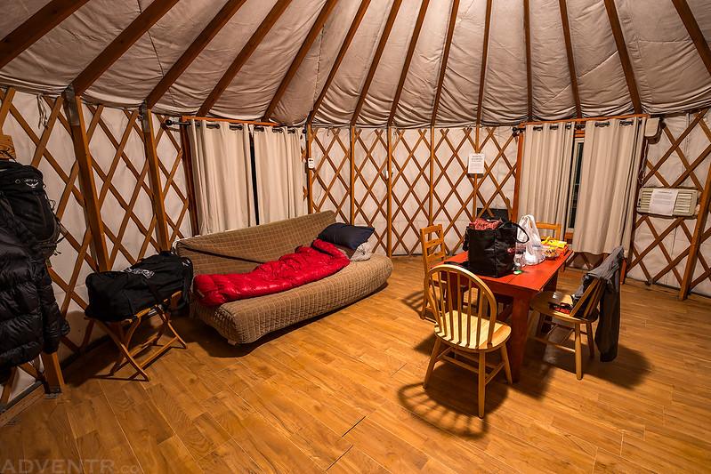 Yurt Interior 1