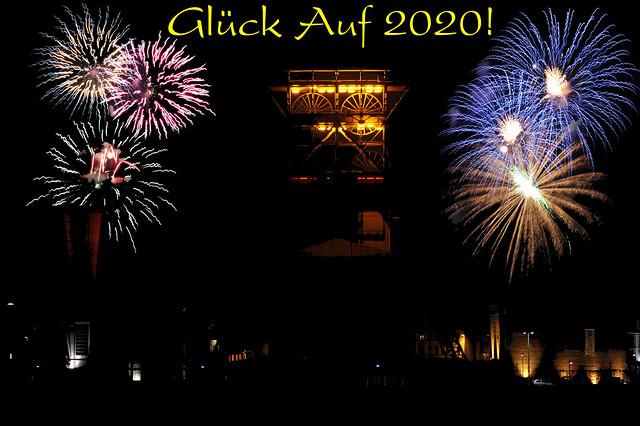 Ein frohes und gesundes Neues Jahr 2020!