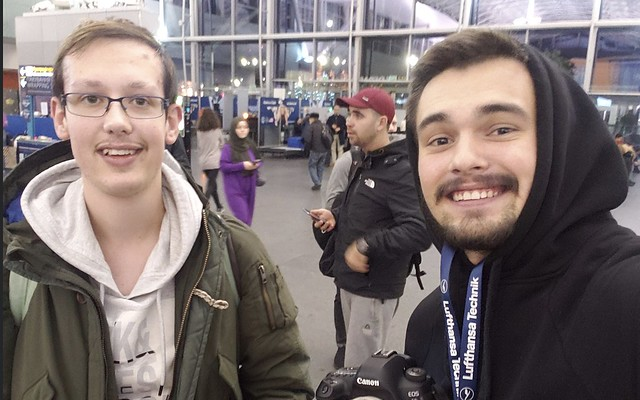 Selfie with Bohdan