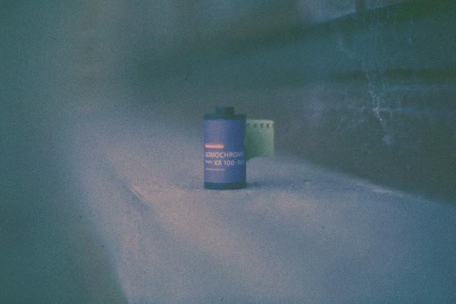 Unboxed : Lomochrome Purple XR 100-400. (35mm)   Exp. 10/1991 3M Scotch Chrome 100.
