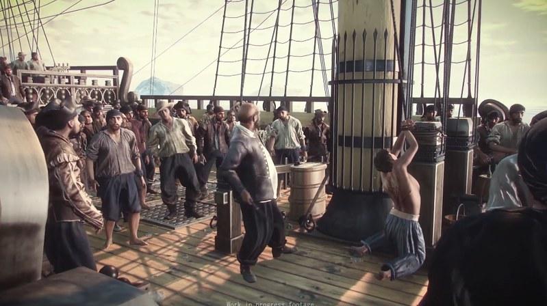 Corsairs qora dog' - o'g'rini qamchi