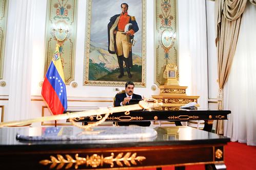 Presidente Maduro: En 2019 triunfó la paz