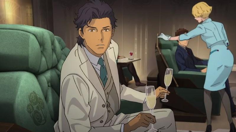 Mobile Suit Gundam Hathaway - Hôtesse de l'air