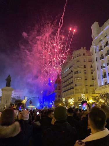 Nochevieja en Valencia.