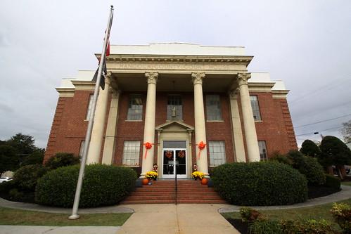 sneedville tn tennessee hancockcounty courthouse countycourthouse neoclassical 1931 bmok bmok2