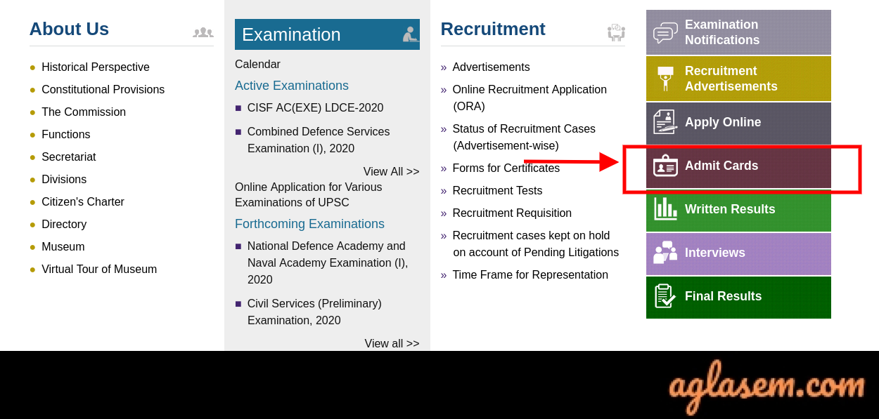 UPSC IFS Admit Card UPSC IFS Admit Card 2020: Prelims and Mains Exam Rescheduled; Download Admit Card Here