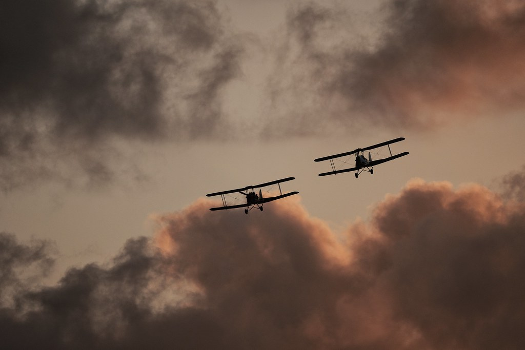 Sunset Fly over 2019