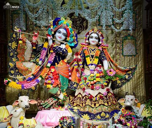 ISKCON Pune NVCC Deity Darshan 01 Jan 2020