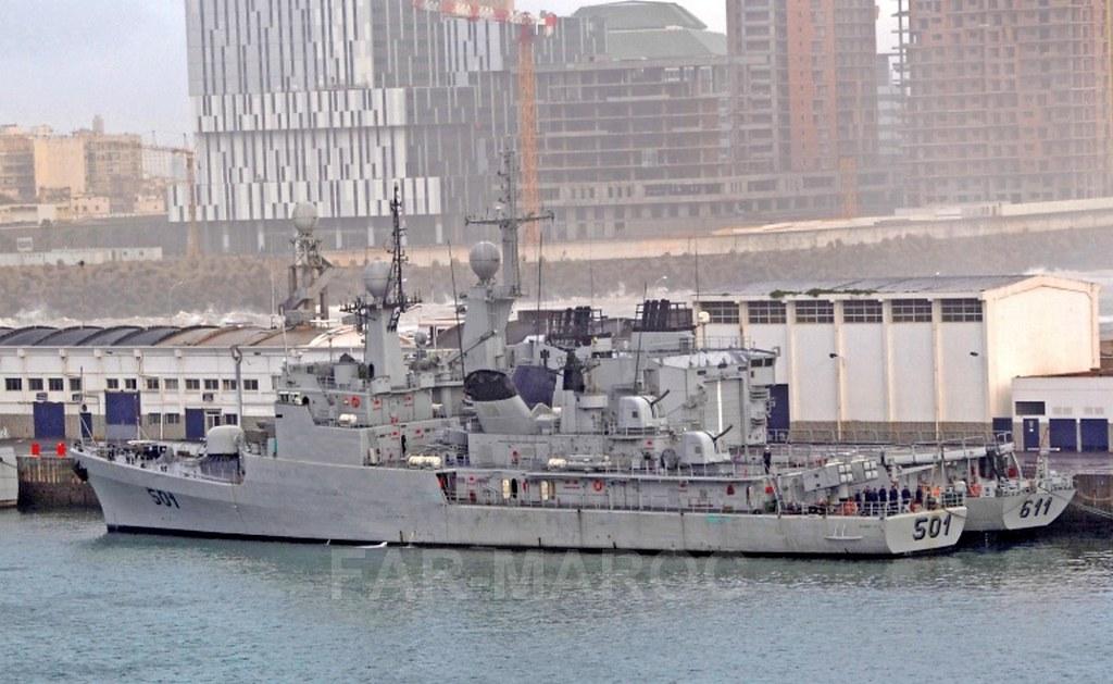 Royal Moroccan Navy Descubierta Frigate / Patrouilleur Océanique Lt Cl Errahmani - Bâtiment École - Page 4 49308664473_738b08e401_b