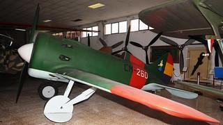 Polikarpov I-16 replica in Madrid