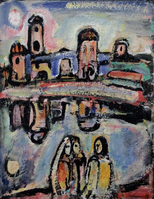 IMG_2130 Georges Rouault 1871-1958 Paris Crépuscule  Twilight   1939 Musée d'Art Moderne de la Ville de Paris (Palais de Tokyo)
