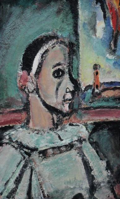 IMG_2128 Georges Rouault 1871-1958 Paris Pierrot 1937 Musée d'Art Moderne de la Ville de Paris (Palais de Tokyo)