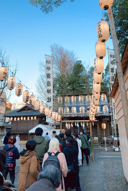 池袋西口御嶽神社2020初詣