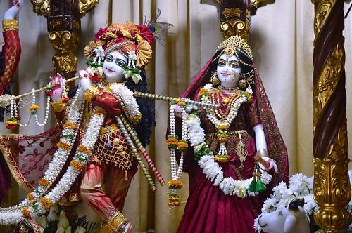 ISKCON Bangalore Deity Darshan 01 Jan 2020