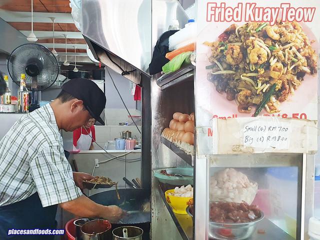 brickfield char kuey teow stall