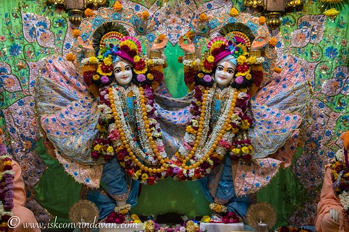 ISKCON Vrindavan Deity Darshan 01 Jan 2020