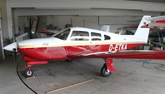 Piper PA28RT D-ETKA Landshut 08/09/13