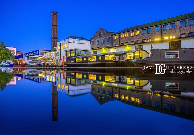 Canal Reflection - London, UK