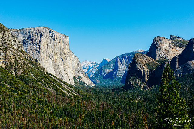 Tunnel View, Yosemite National Park.