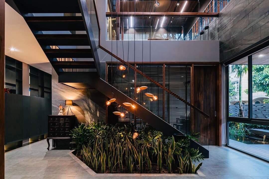 Bán biệt thự cao cấp 306m2 phong cách hiện đại ở khu phố Mỹ Hào, Phú Mỹ Hưng phường Tân Phong, Quận 7