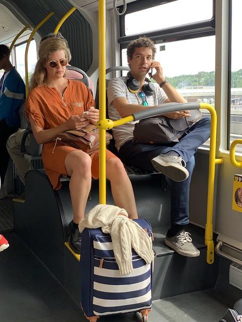 X9 Express bus from Berlin Tegel Airport, Berlin, Germany