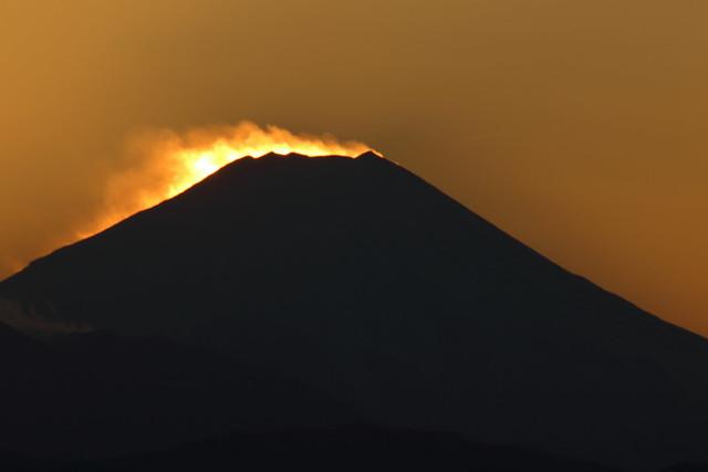 Sunset at Mt.Fuji