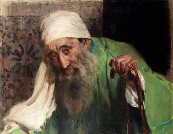 JoaquinSorollaYBastidaUnHebreo1898