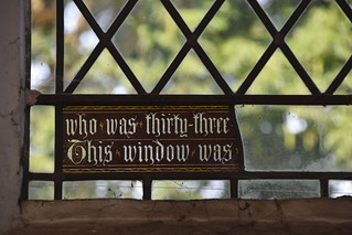 who was thirty-three/This window was