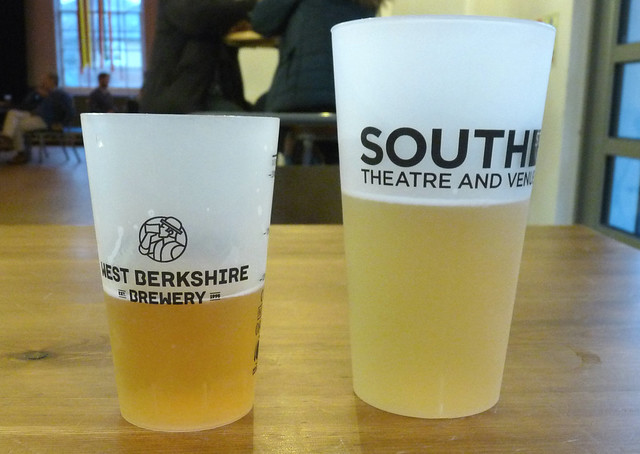 December 31st, 2019 Enjoying some beer at the South Street Arts Centre