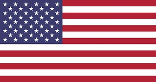 The flag of the United States of America