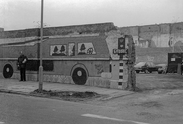 Fire Engine, Mornington Crescent area, Camden, 1980