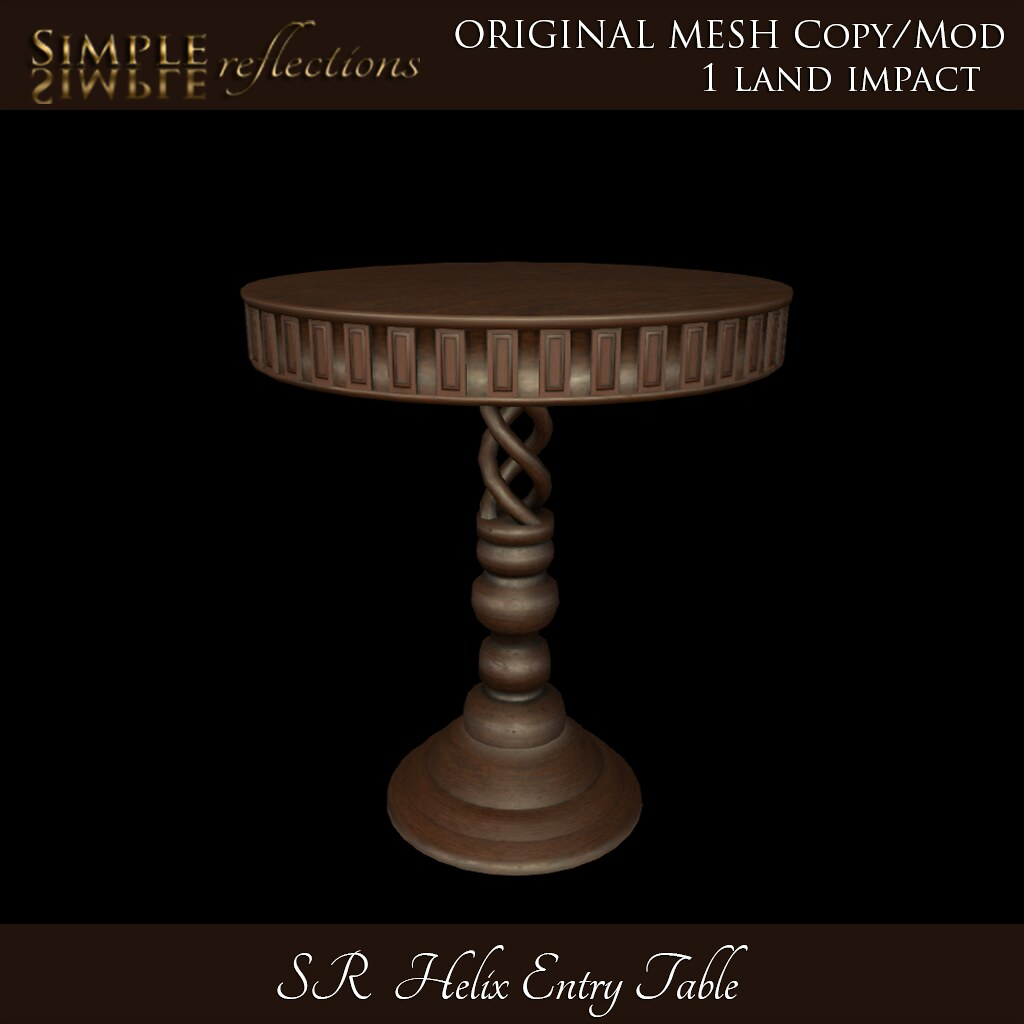 SR Helix Entry Table @ TLC