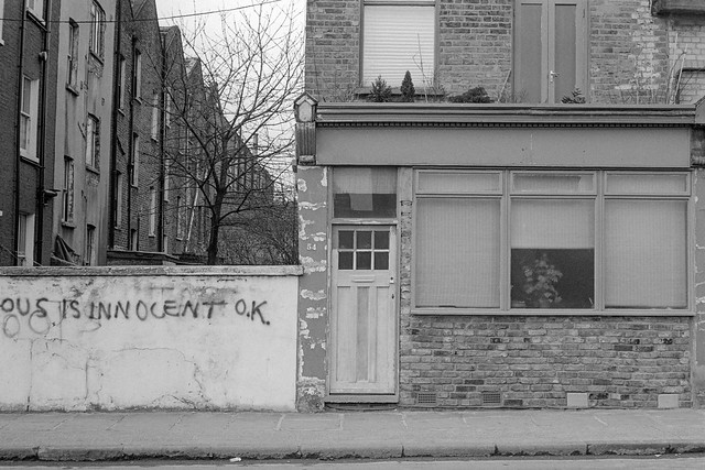 Is Innocent O.K., Mornington Crescent area, Camden, 1980