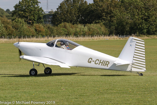 G-CHIR - 2013 build Vans RV-7, taxiing for departure at Sywell during the 2019 LAA Rally
